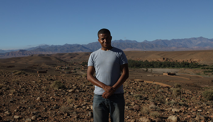 Nazir is one of the employees on site. In May 2012, he was in charge of establishing routes to travel on the site.