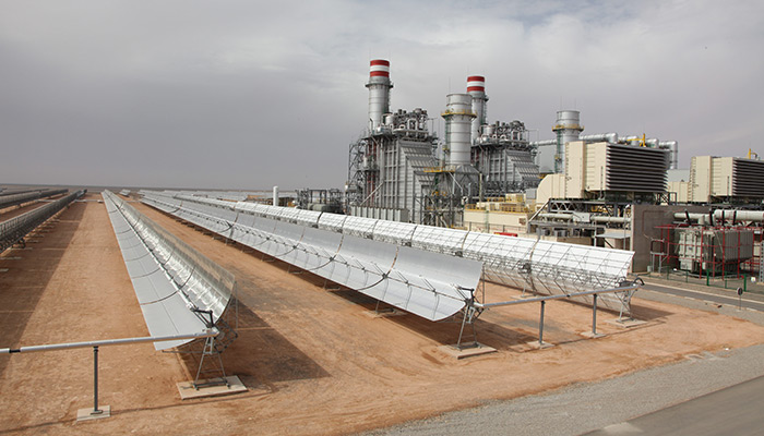 The Ouarzazate CSP plant like the one in  Ain Beni Mathar is part of the renewable energy production strategy of the Moroccan government.
